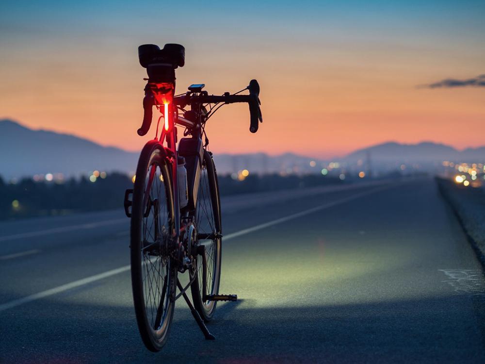 éclairage pour vélo