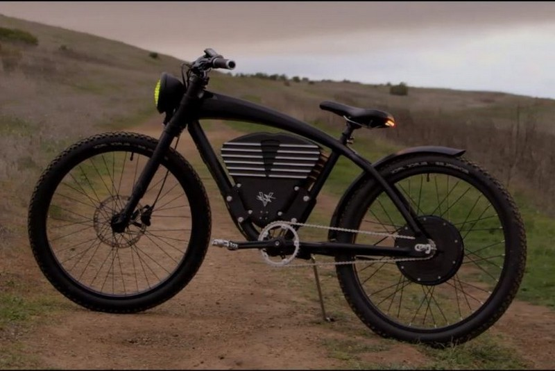Vélo qui utilise électricité