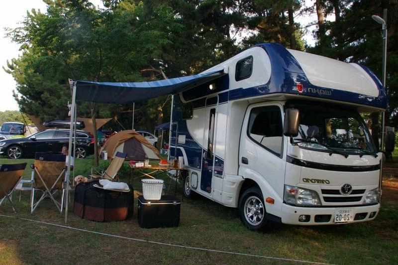 Conseils débutant en camping vr