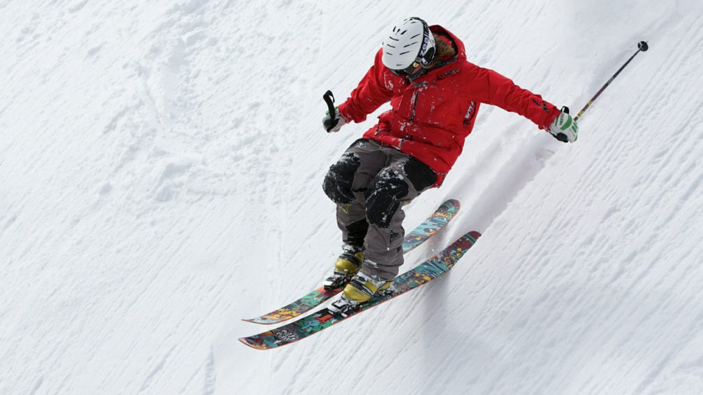 voiture pour aller skier