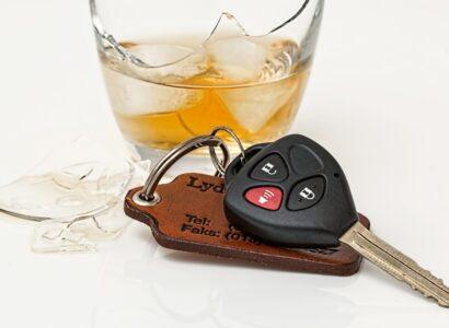 Taux d'alcool en voiture