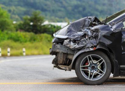 Victime d'un accident de la route