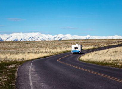 camping-car road trip
