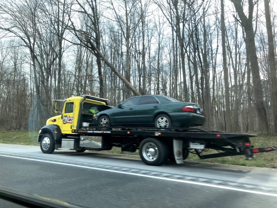 enlèvement voiture accidentée