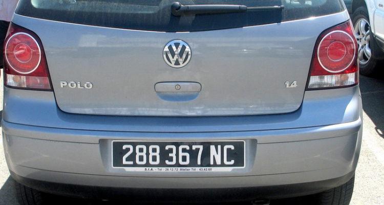 immatriculation véhicules
