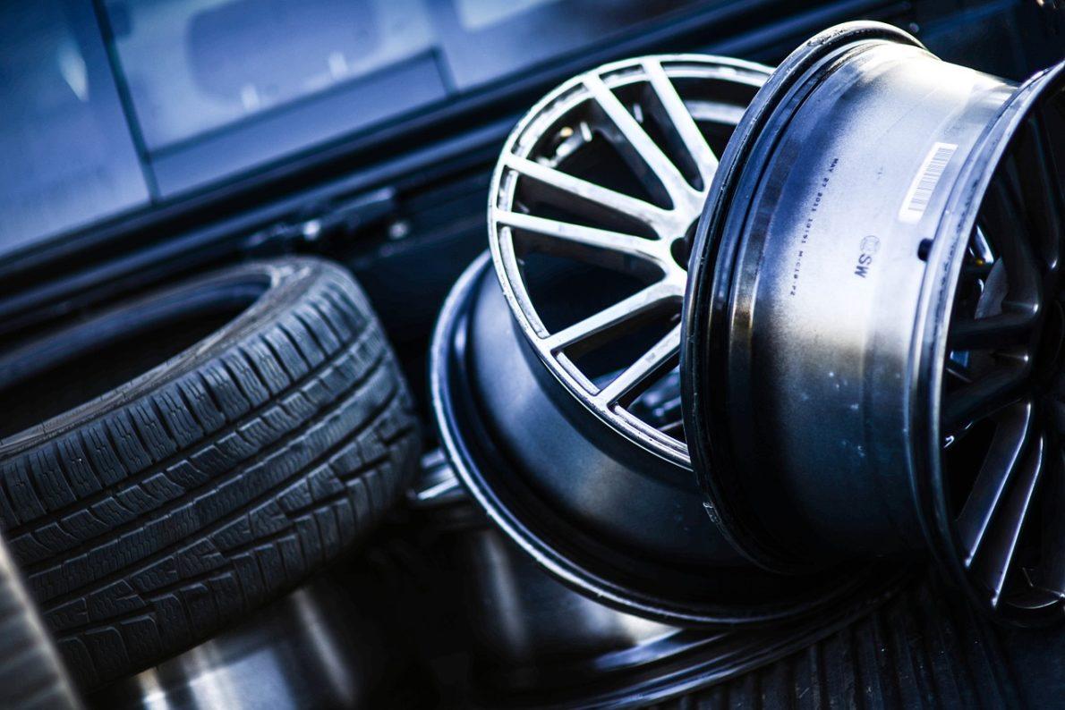 pneus de secours