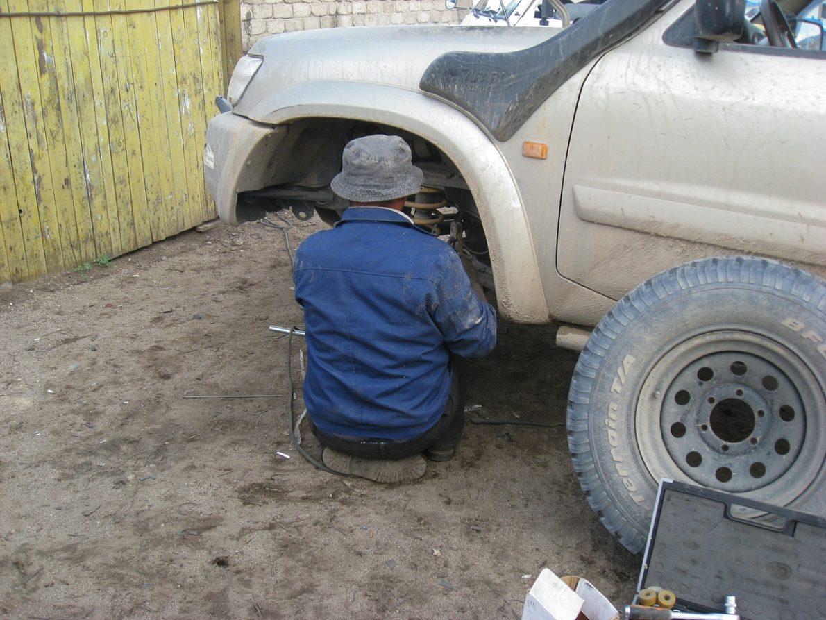 réparer son véhicule chez soi
