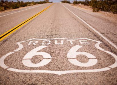 rouler sur la route 66