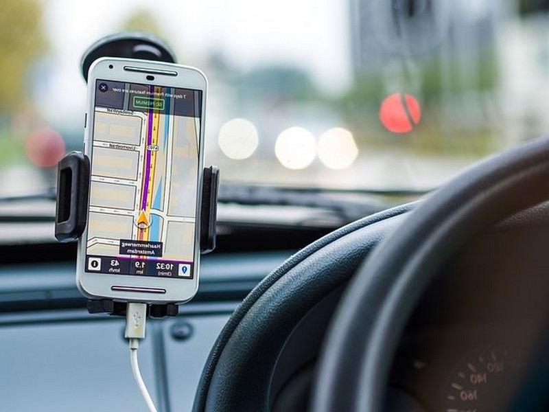 Système GPS pour la voiture