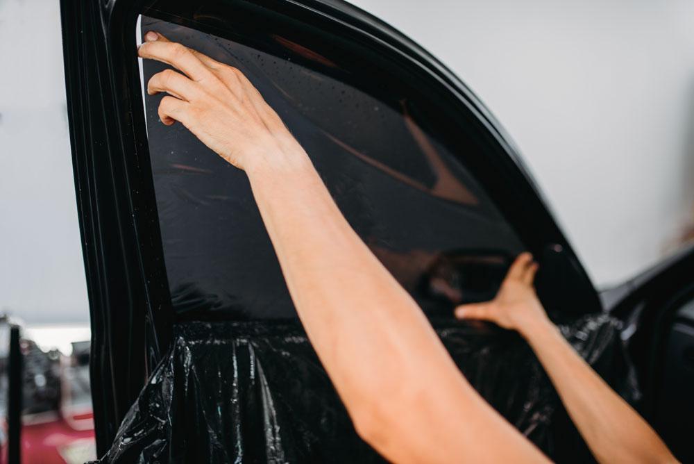 vitre teintée pour voiture