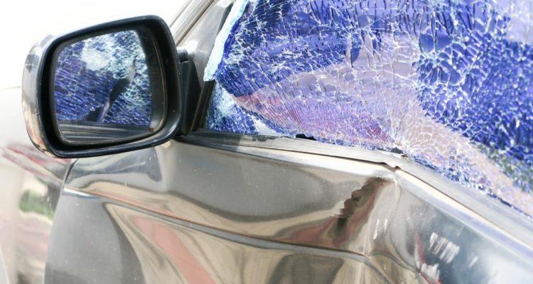 voiture accidentée